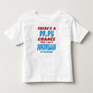 99.9% ben ik een SUPER SCHURK (blk) Kinder Shirts