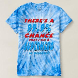 99.9% ben ik een SUPERHERO (blk) T Shirts