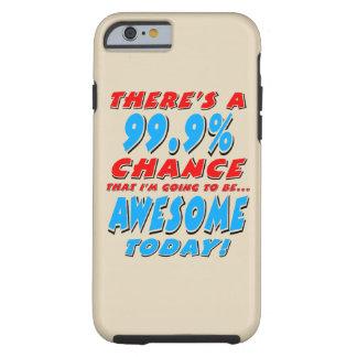 99.9% DIE GEWELDIGE GAAN ZIJN (BLK) TOUGH iPhone 6 HOESJE
