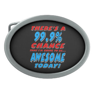 99.9% DIE GEWELDIGE GAAN ZIJN (WHT) GESP