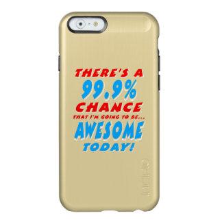 99.9% DIE GEWELDIGE GAAN ZIJN (WHT) INCIPIO FEATHER® SHINE iPhone 6 HOESJE