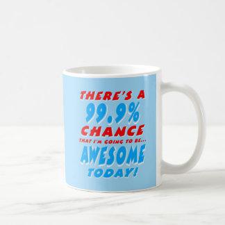 99.9% DIE GEWELDIGE GAAN ZIJN (WHT) KOFFIEMOK