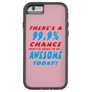 99.9% DIE GEWELDIGE GAAN ZIJN (WHT) TOUGH XTREME iPhone 6 HOESJE