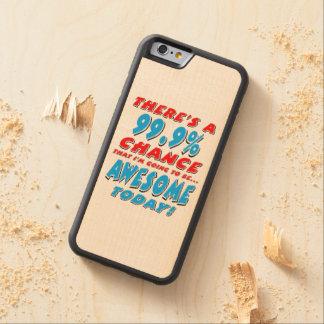99.9% DIE GEWELDIGE GAAT ZIJN (BLK) ESDOORN iPhone 6 BUMPER HOESJE