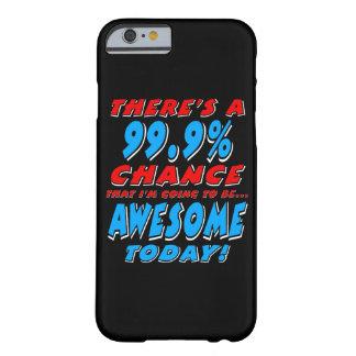 99.9% DIE GEWELDIGE GAAT ZIJN (WHT) BARELY THERE iPhone 6 HOESJE