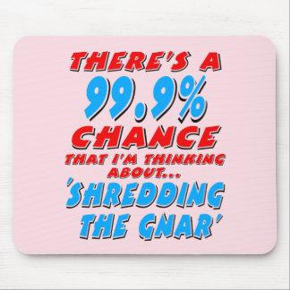99.9% DIE GNAR (BLK) VERSCHEURT MUISMATTEN