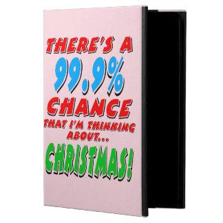 99.9% KERSTMIS (blk) iPad Air Hoesje