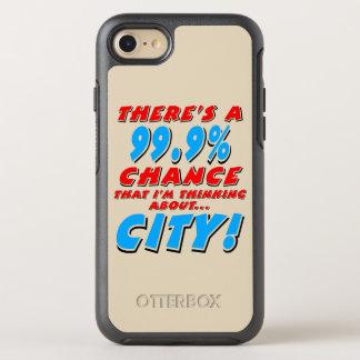 99.9% STAD (blk) OtterBox Symmetry iPhone 8/7 Hoesje