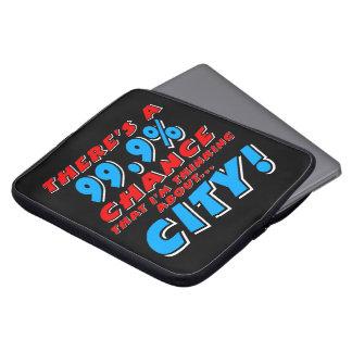 99.9% STAD (wht) Laptop Sleeve