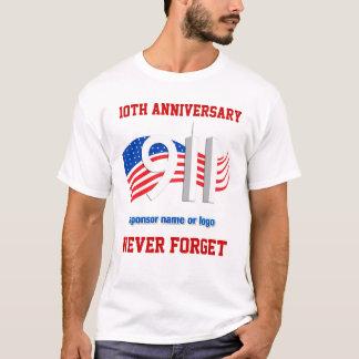 9/11 - 11 September - NY Gesponsorde T - shirts