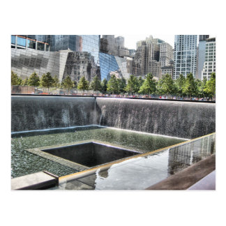 9/11 Gedenkteken Briefkaart