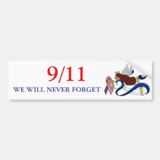 9/11 HerdenkingsLint, Etnische Engel Bumpersticker