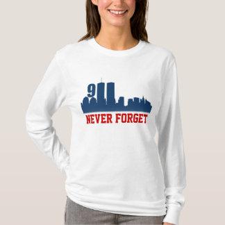 9/11 WTC - vergeet nooit HerdenkingsT-shirts T Shirt