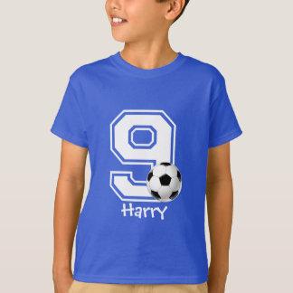 9de voetbal personaliseren-2 van het Feestvarken T Shirt