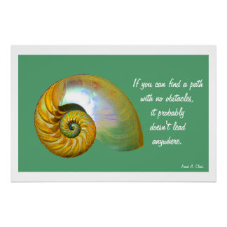 A06 de Affiche Inspirerend Quote.3 van Nautilus Poster