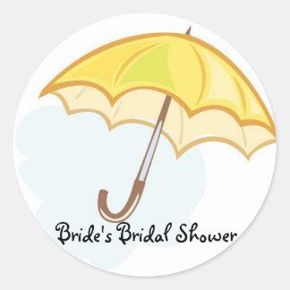a0731003xa0, het Vrijgezellenfeest van de Bruid Ronde Sticker