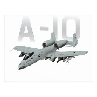 A-10 blikseminslag II Briefkaart