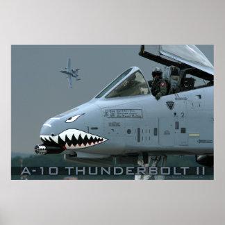 A-10 blikseminslag II Poster