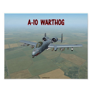 A-10 WRATTENZWIJN POSTER