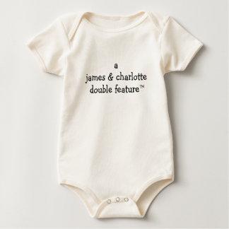 A (de Namen van Ouders hier) Dubbele Eigenschap Baby Shirt