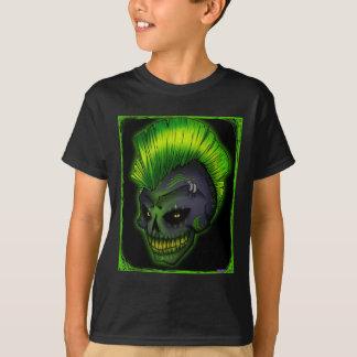 a-punk-rockin-schedel t-shirt