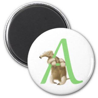 A voor Aanvankelijke Miereneter - Groene Magneet -