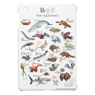 A-Z van verbazende dieren iPad Mini Cases