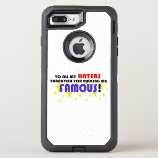Aan Al Mijn Haters! OtterBox Defender iPhone 7 Plus Hoesje