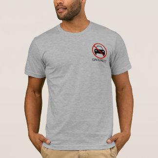 Aan de grond gezete Tiener T Shirts