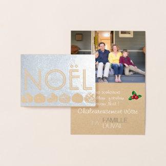 Aan de persoonlijke behoeften aanpasbare folie kaarten
