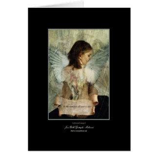 aan flarden engel wenskaart