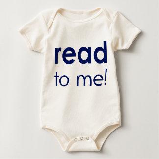 Aan lees me baby shirt