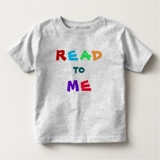 aan lees me bericht kinder shirts