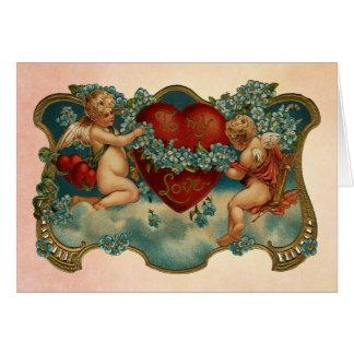 Aan Mijn Kaart van de Valentijnsdag van de Liefde