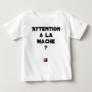 AANDACHT AAN DE VELDSLA? - Woordspelingen Baby T Shirts