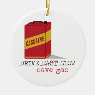 Aandrijving Langzaam sparen Gas Rond Keramisch Ornament