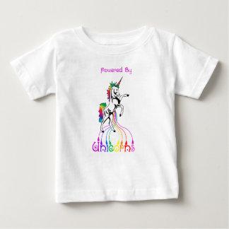 Aangedreven door de T-shirt van het Baby van
