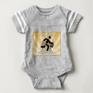 Aangedreven door het Logo van de Zonnestralen van Baby Bodysuit