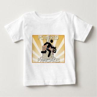 Aangedreven door het Logo van de Zonnestralen van Baby T Shirts