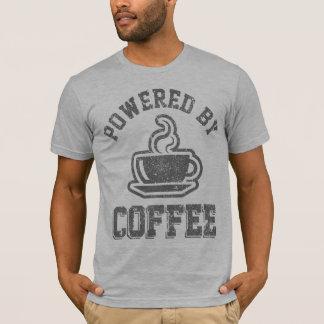 Aangedreven door Koffie T Shirt