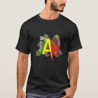 Aangedreven door Leeuw Jah van Judah Rastafari T Shirt