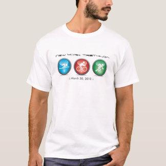 Aangepast Overhemd Triathlon - zwem, Cyclus, T Shirt