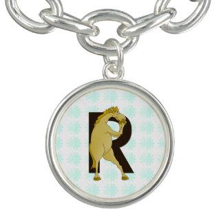 Aangepaste het Pony van de Cartoon van het Bedel Armband