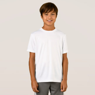 Aangepaste Kinder Gepaste Prestaties sport-Tek T Shirt