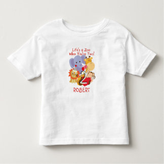 Aangepaste T-shirt van de Verjaardag van de Dieren