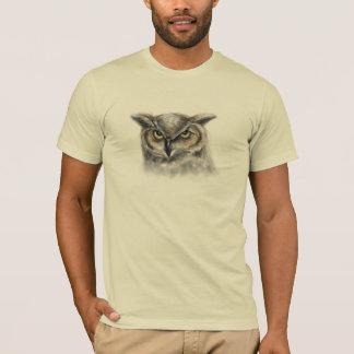 aangepaste uil - t shirt