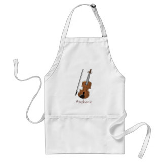 Aangepaste viool standaard schort