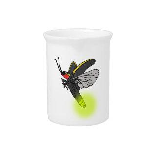 aangestoken vlucht 2 van het blikseminsect drink pitcher