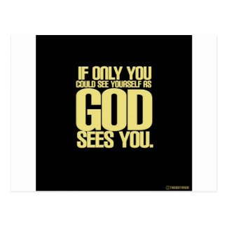 Aangezien de God u ziet Briefkaart