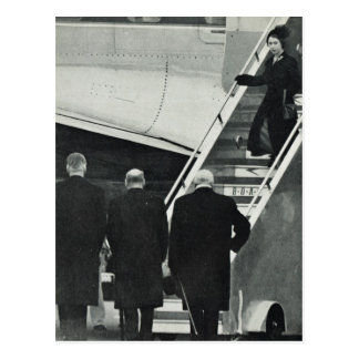 Aankomst Koningin Elizabeth II als Koningin Briefkaart